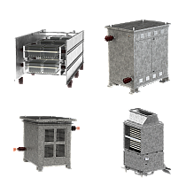 LACG-LV, CGC-LV / NER / Filter / Traction brake resistors